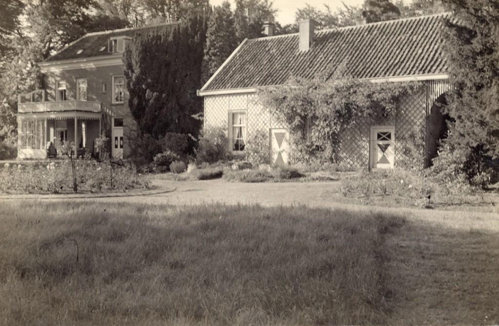 De tuinmanswoning van Valkenburg waar in de tijd van R. D. Wolterbeek de tuinman Jan Kouffeld woonde.