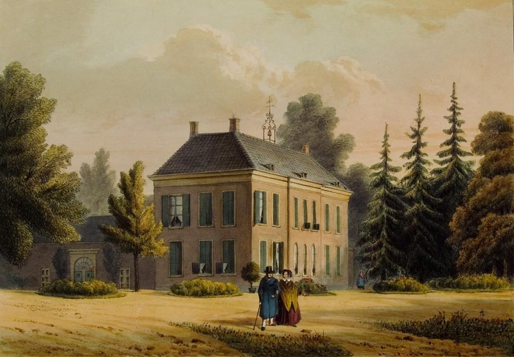 Het door de advocaat Derk Gaymans gebouwde tweede huis Hemelse Berg.