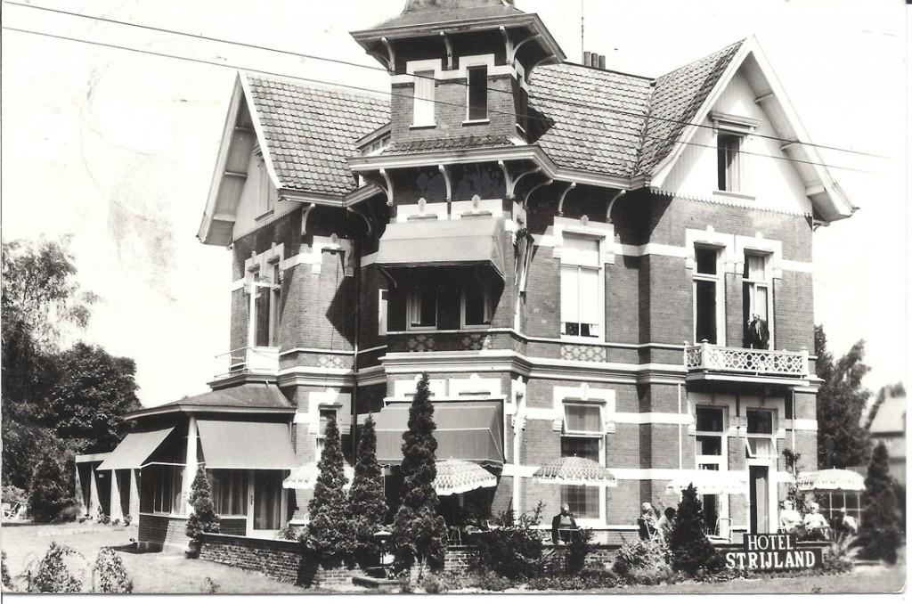 """Hotel """"Strijland"""" op Stationsweg 6 werd gebouwd als woonhuis in 1887."""
