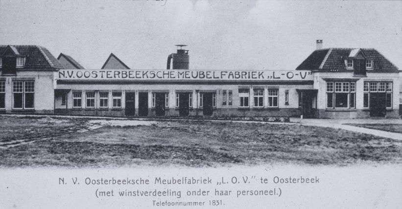De LOV- fabriek aan de Jan van Embdenweg.