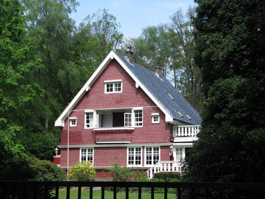 De houten villa op Utrechtseweg 269, Oosterbeek.