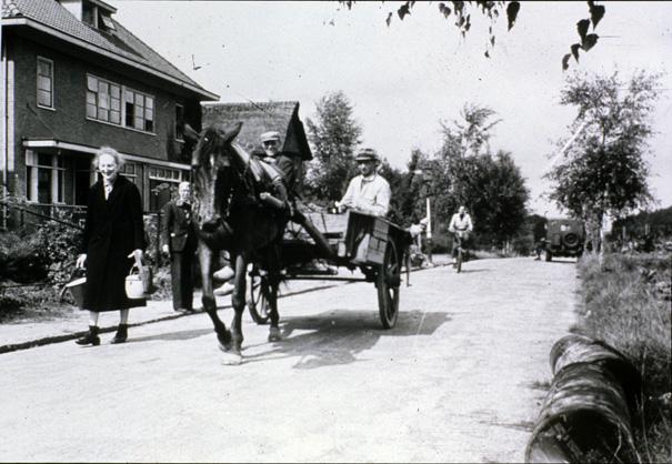 De Nico Bovenweg kort na WOII.