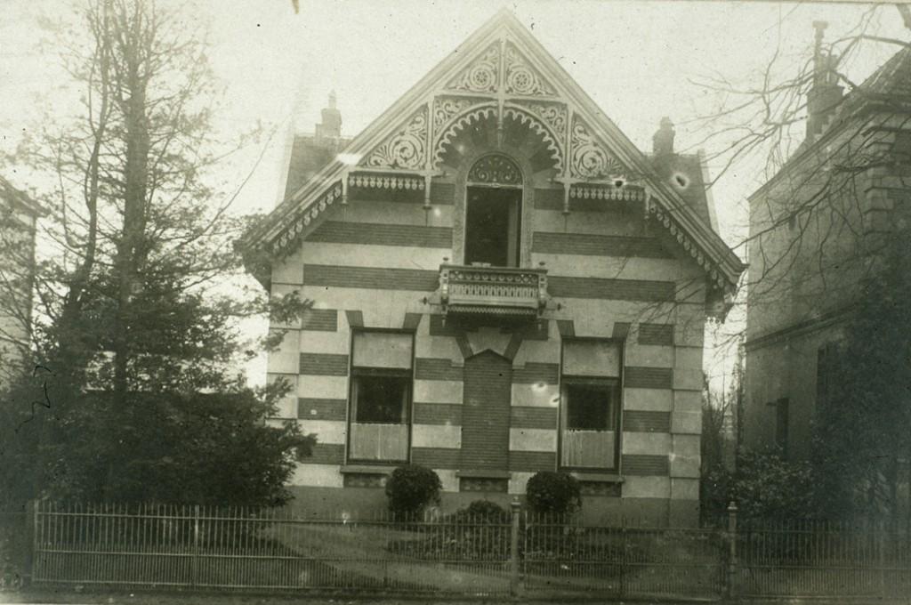 Het monumentale pand Utrechtseweg 194, een van de rijksmonumenten van de gemeente Renkum.