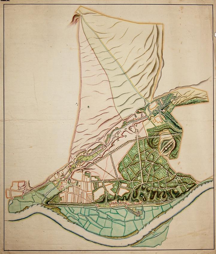 De heerlijkheid Doorwerth rond 1800.
