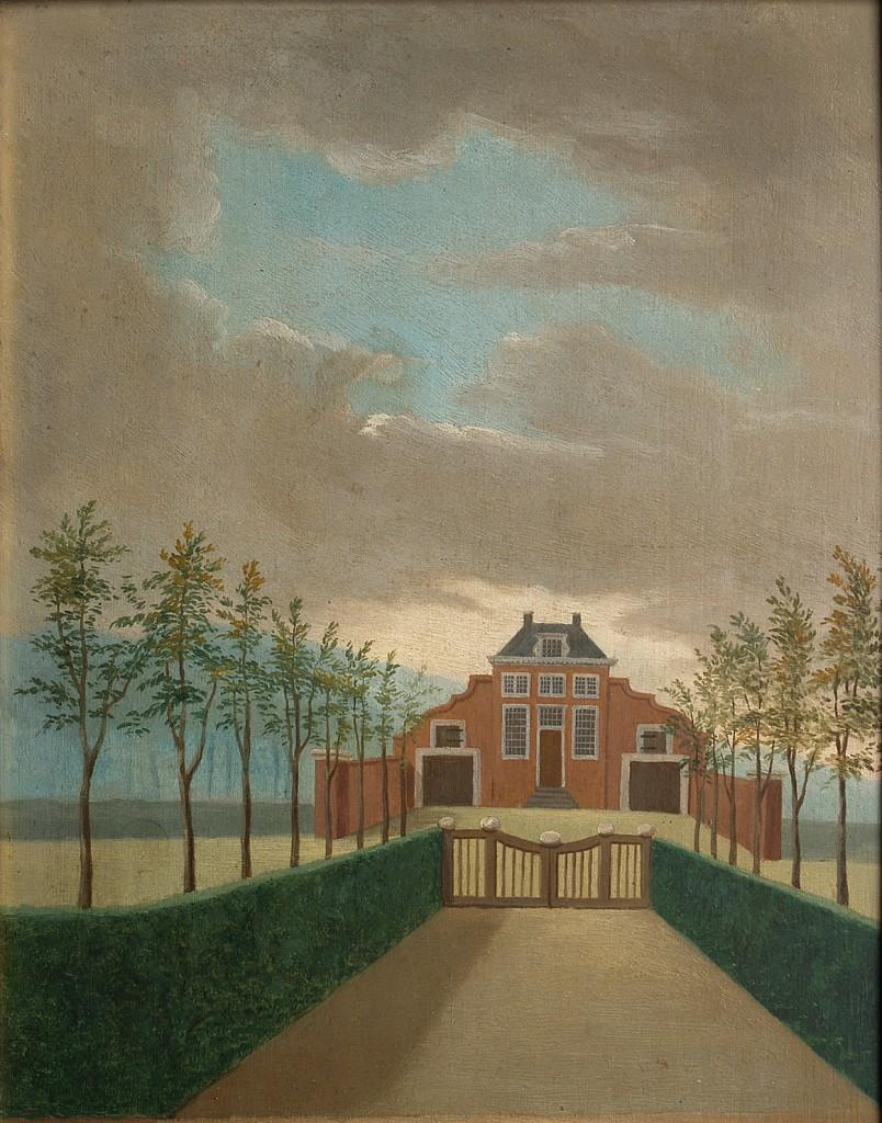 Het door de familie Van der Hoop gebouwde jachthuis op de Hemelse Berg.