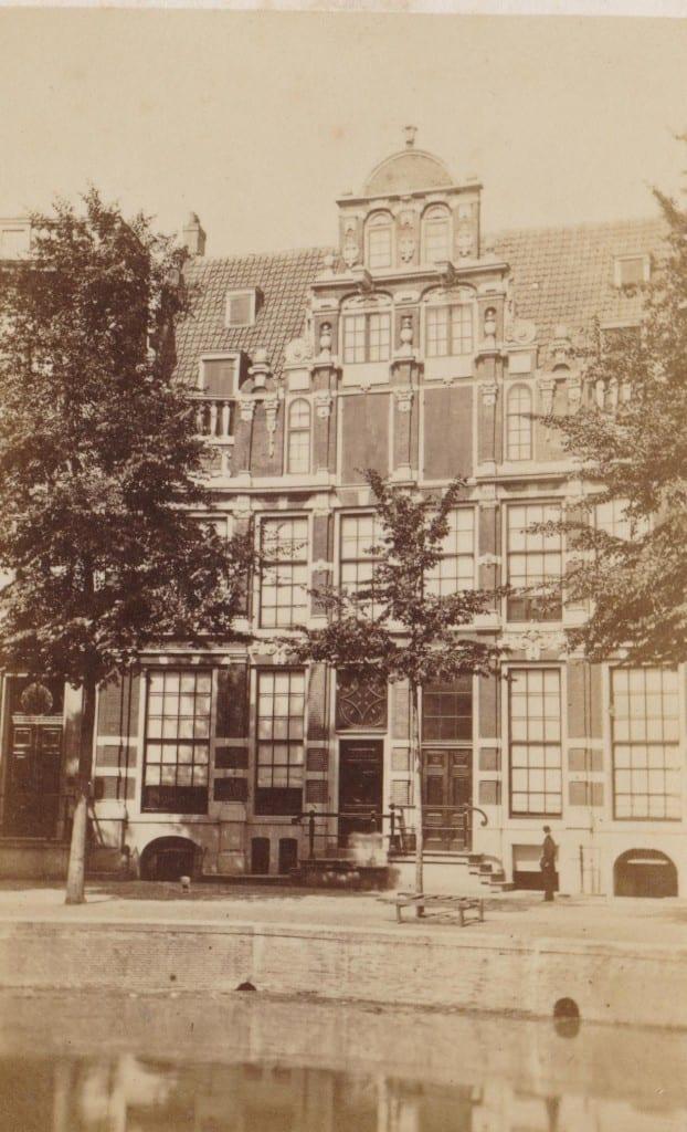 Herengracht 170 te Amsterdam voor de verbouwing die de gevel aanmerkelijk zou veranderen.
