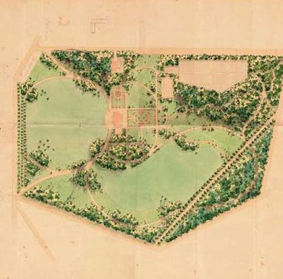 Ontwerp van huis Hoog- Oorsprong v.d.h.v. de architect K.P.C. de Bazel