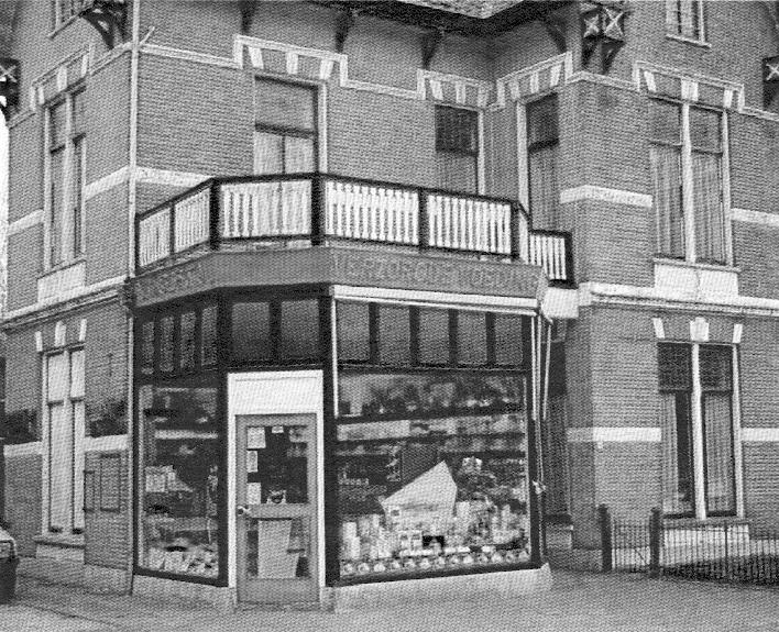 Het in 1894 gebouwde pand van de kruidenier De Geest. Na verbouwing rond 2010 thans woonhuis.