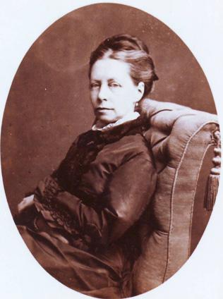 Portret van Maria Vos na haar vestiging in Oosterbeek.