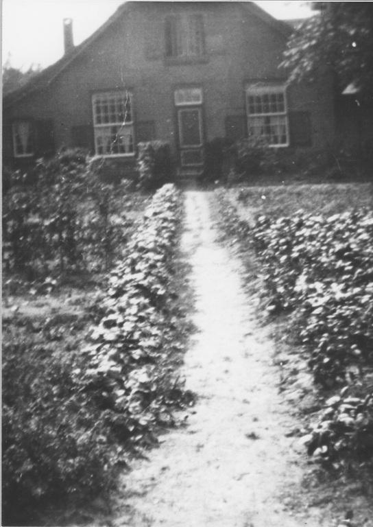 Nico Bovenweg 44, woonhuis van de familie Wegh.