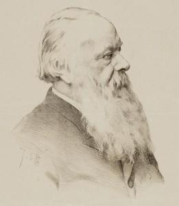 Cornelis Opzoomer, portret van Johan Braakensiek (1858-1940)
