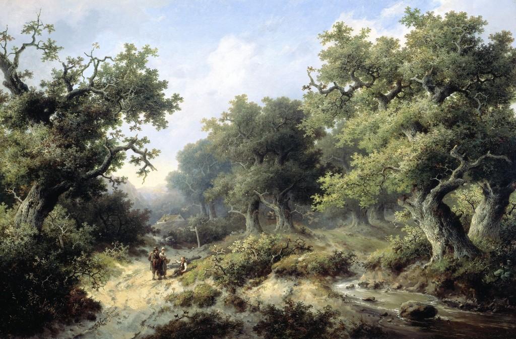 Een werk van Jacob Cremer uit 1849. Collectie Rijksmuseum Amsterdam.