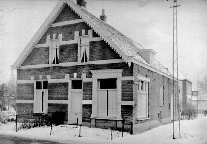 Het huis op Steynweg, hoek Paul Krugerweg.