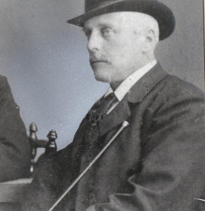 Burgemeester Van Toulon van der Koog.
