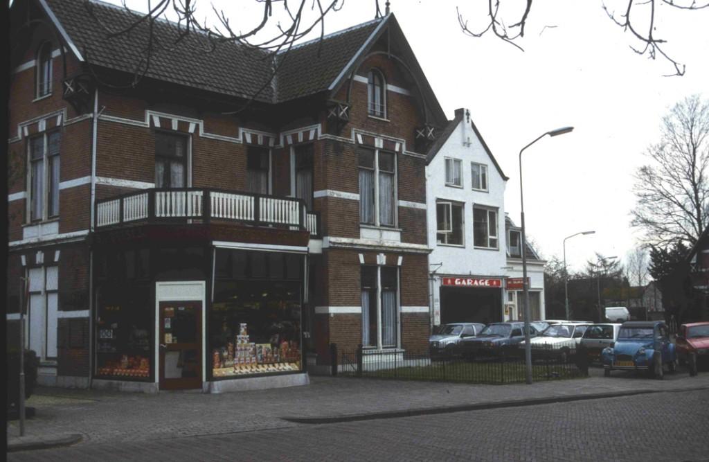 De winkel van de kruidenier De Geest in de nadagen, rond 1998.