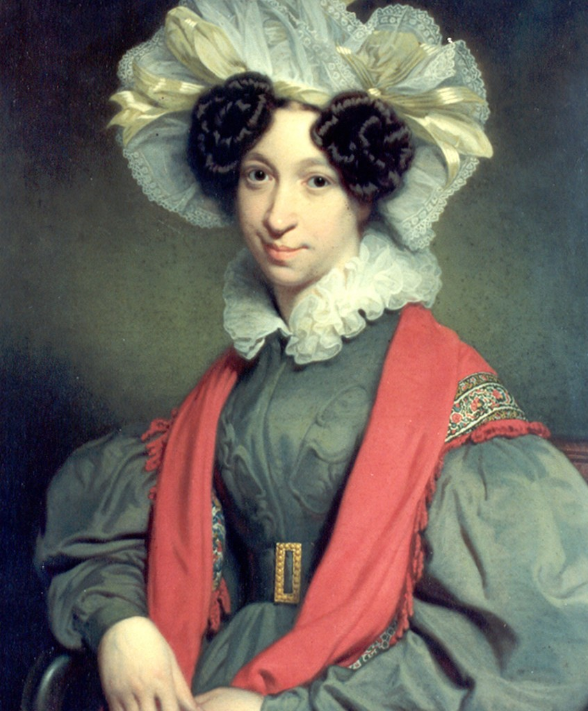 Wilhelmina Maria Meyer (portret door Charles Hodges)