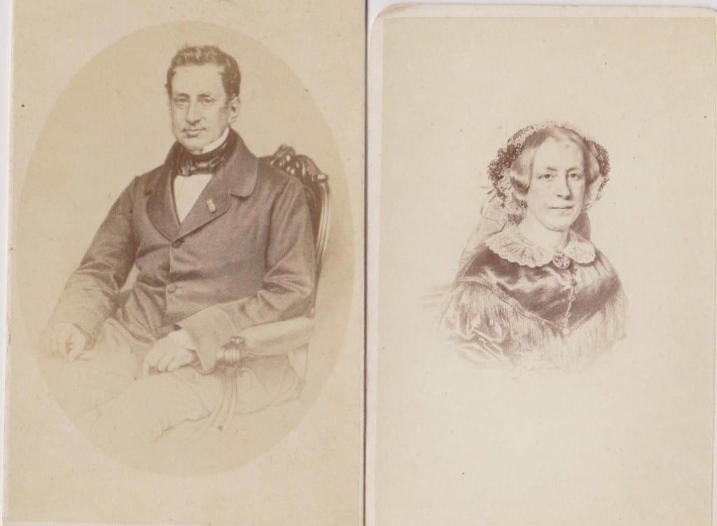 Claude Daniël Crommelin en Aleida Maria Wolterbeek