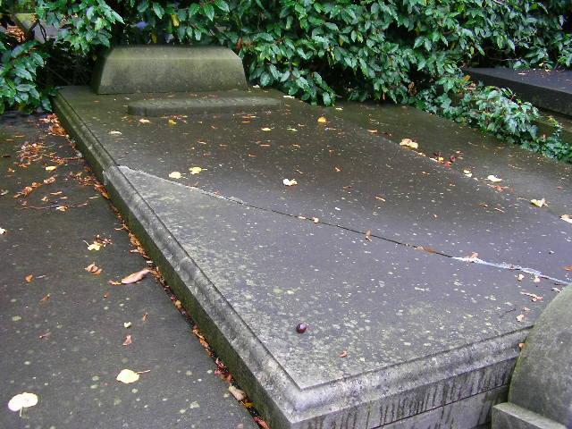 Graf van C.P. van Eeghen op het kerkhof te Breukelen
