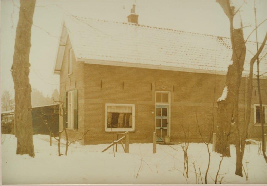 Het huis op Pastoor Bruggemanlaan 33 voor de afbraak in 1970.