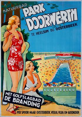 Poster natuurbad Park Doorwerth