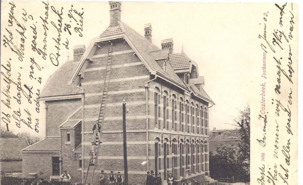 Het postkantoor gezien naar de noordgevel.