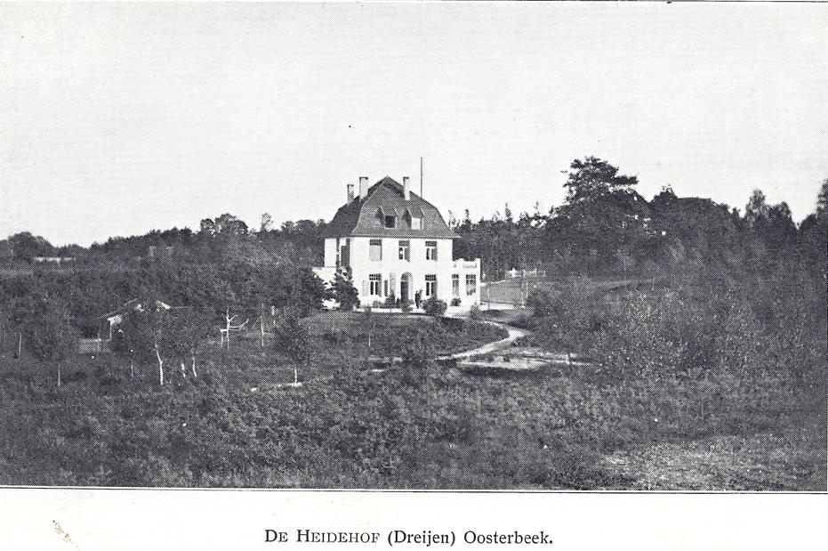 """Villa """"De Heidehof"""", voor verbouwing door het echtpaar De Bruyn- van Lede."""