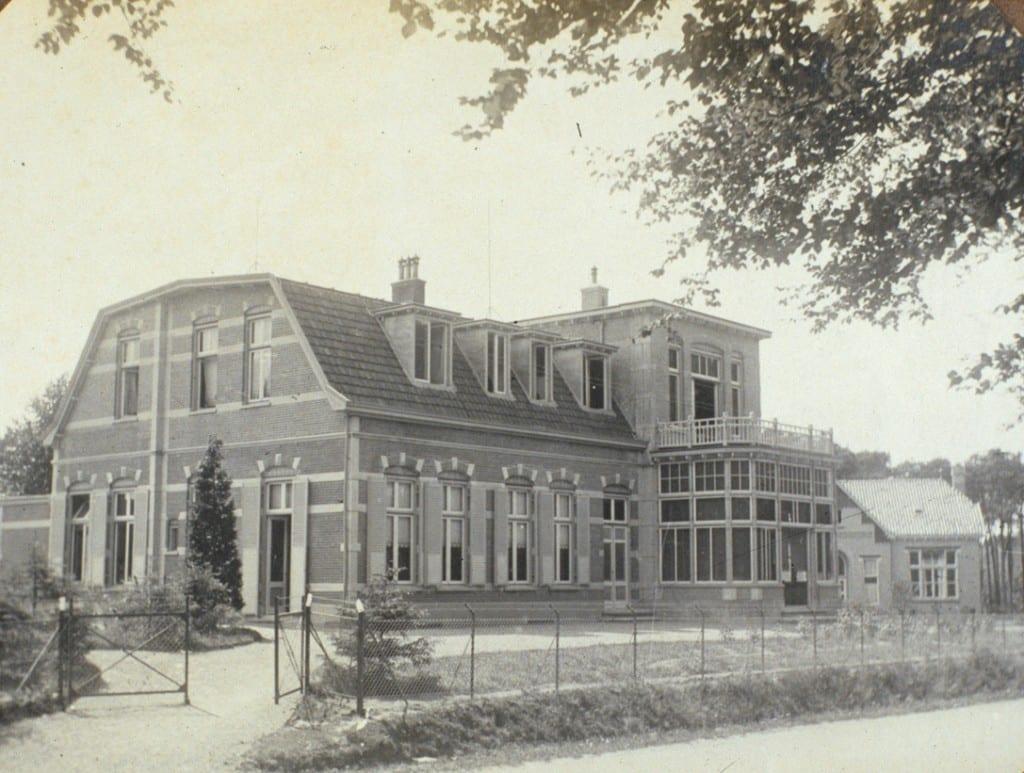 Ziekenhuis na inrichting van het terrein.