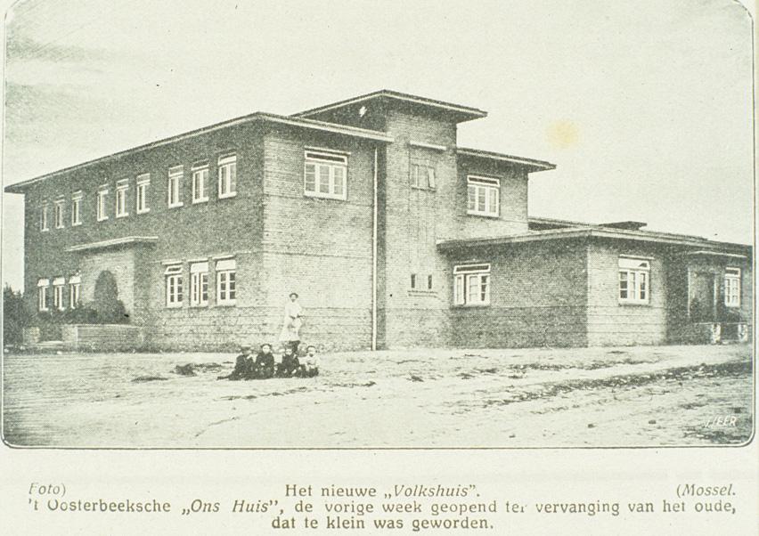 2665 Het nieuwe Volkshuis Lebretweg Oosterbeek