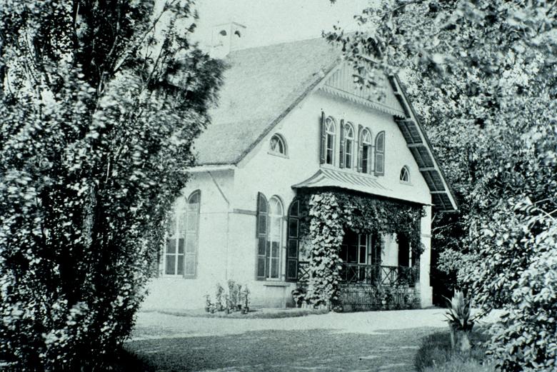 Het door Leendert Fangman afgebroken huis van De Kempenaer.