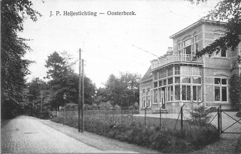 Het voormalig ziekenhuis na overname door de J.P. Heijestichting.