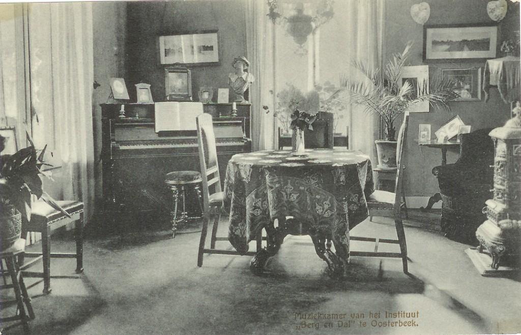 """De muziekkamer van """"Berg en Dal""""."""