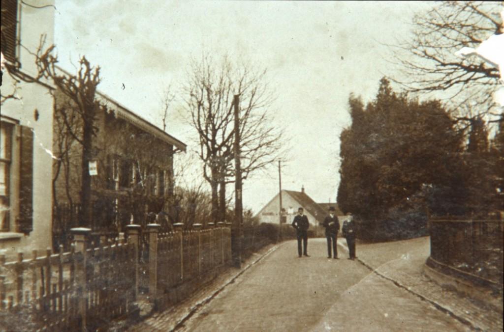 Weverstraat omstreeks 1900 Oosterbeek