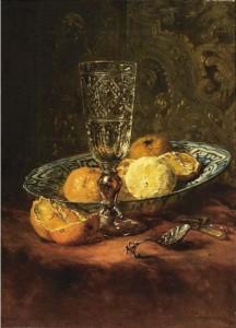 Stilleven, Maria Vos 1891 Uit de collectie van Cateau van Eeghen.