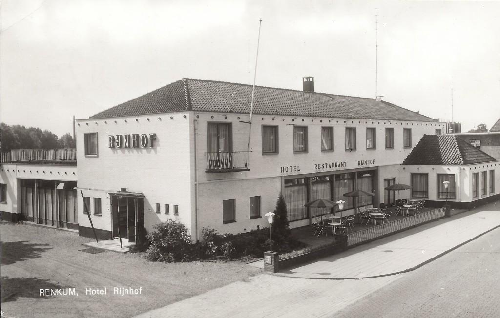 """Hotel """"Rijnhof"""" in 1964."""