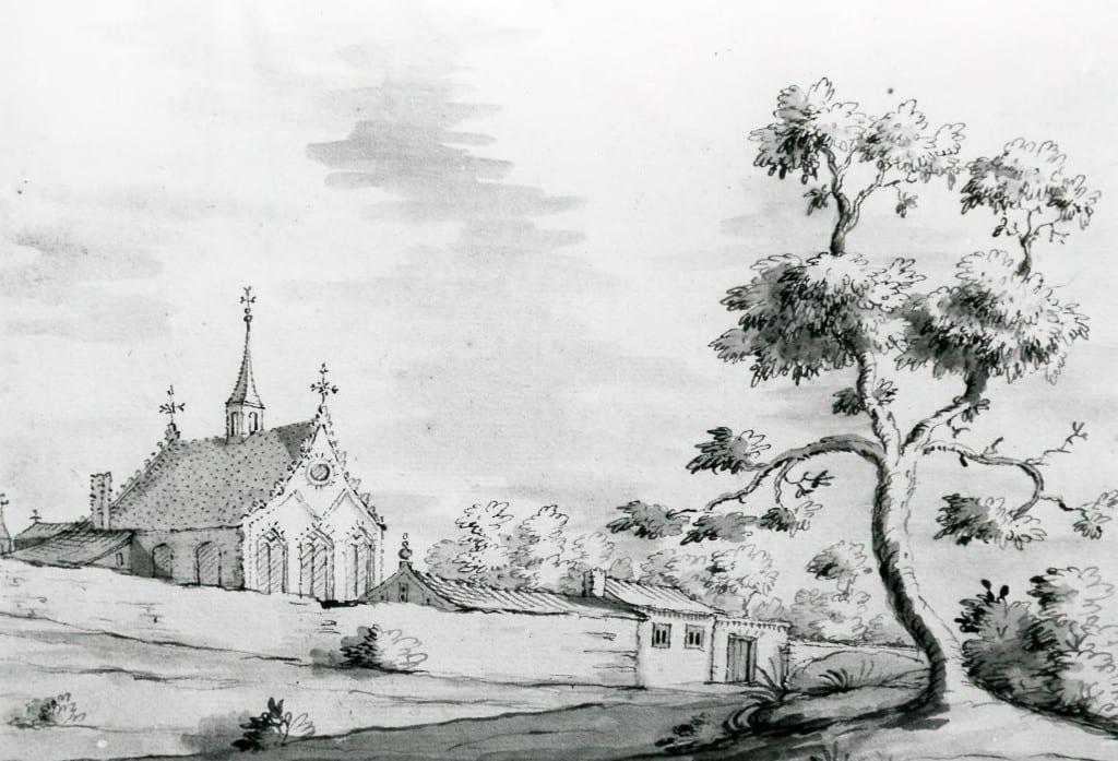 Het oude klooster van Mariendaal