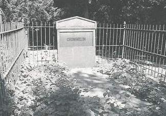 """Graf van Crommelin op de begraafplaats """"Onder de Bomen"""" te Renkum"""