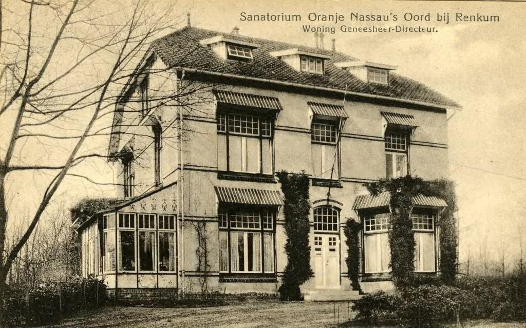 De woning van Donath als geneesheer-directeur op het terrein wonend.