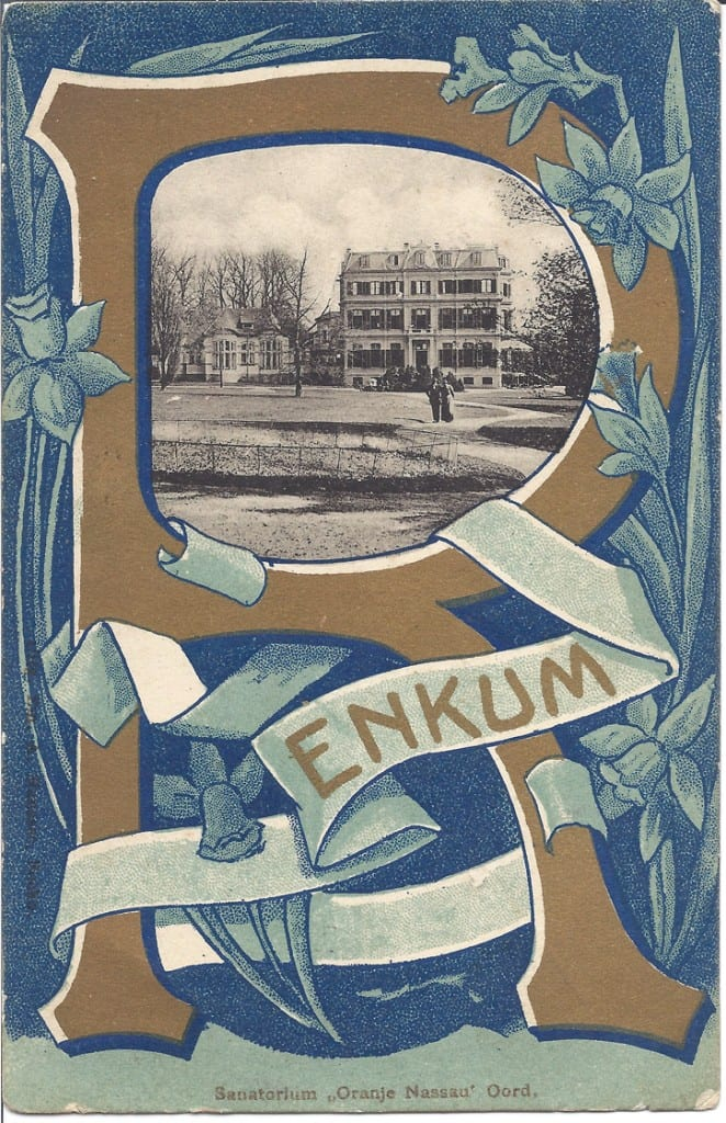 0888 sanatorium Oranje Nassau s Oord