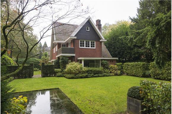 De villa aan de Socrateslaan 9 te Zeist, gebouwd in 1931 en laatste woonhuis van Theo Driessen.