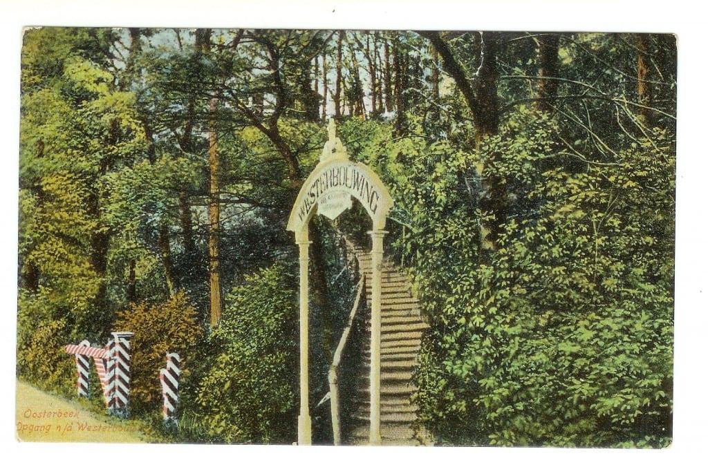 13 Oosterbeek - Westerbouwing trap aan Veerweg 26 jun 1908